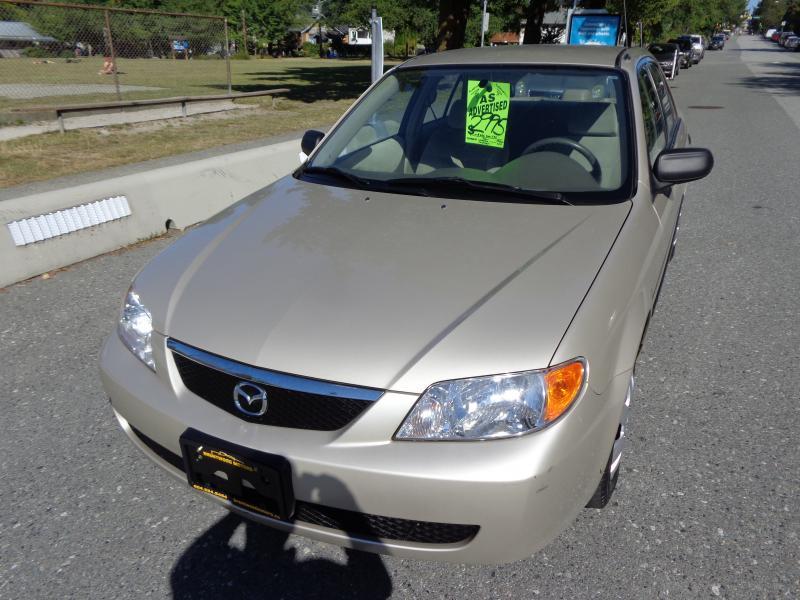 2001 Mazda Protege, 2.0