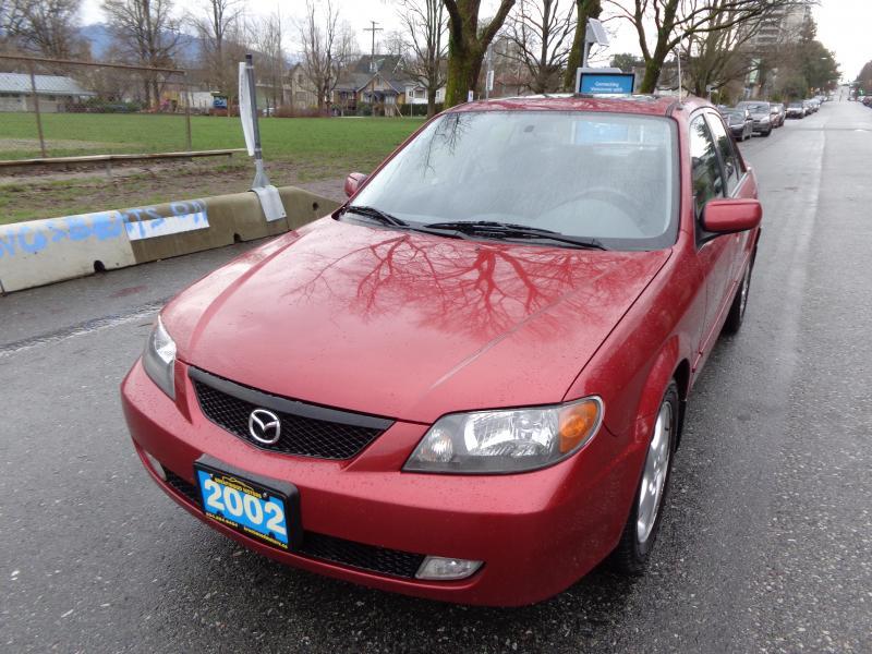2002 Mazda Protege, 2.0
