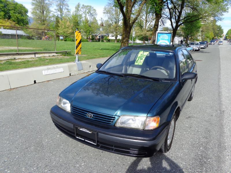1998 Toyota Tercel, 1.5
