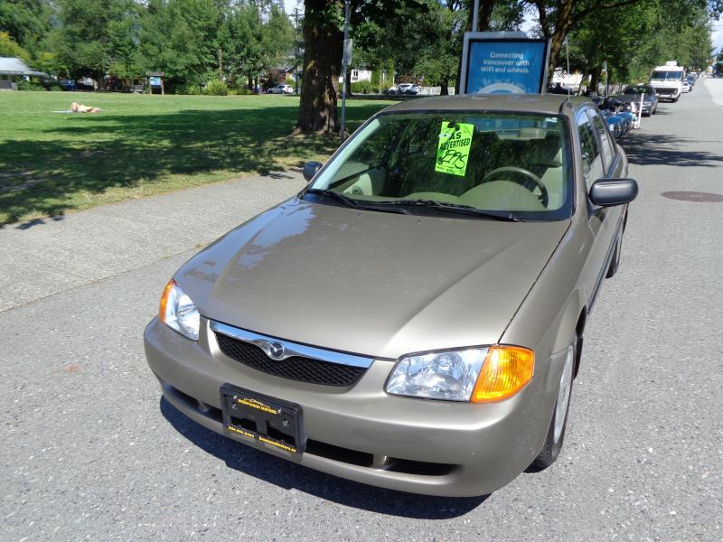 1999 Mazda Protege, 1.8
