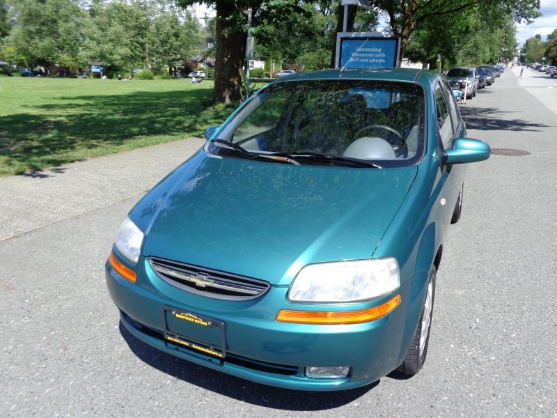 2005 Chevrolet Aveo, 1.6