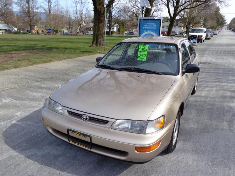 1996 Toyota Corolla, 1.6